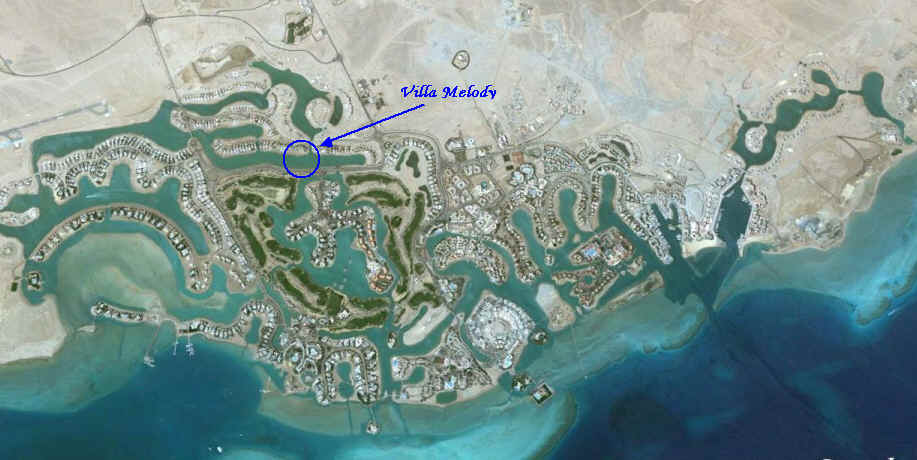 El Gouna and Villa Melody